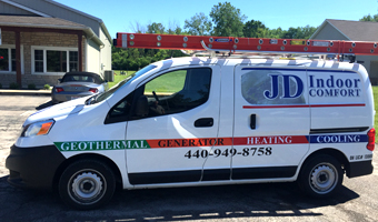 Service Vehicle JD Indoor Comfort