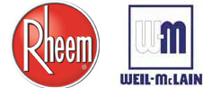 Rheem and Weil-McLain Logos