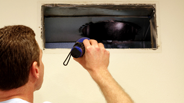 Duct Work Inspection for Residential Cleaning
